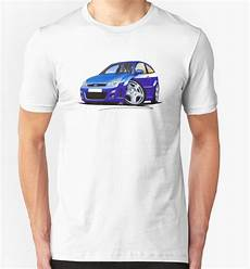 quot ford focus rs blue quot t shirts hoodies by richard yeomans