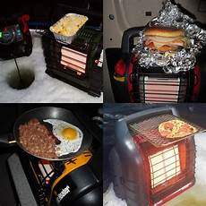 so mr heater cooking is a cing thing good to know it works ice fishing ice fishing