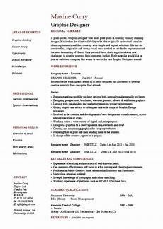 graphic designer resume 1 exle description