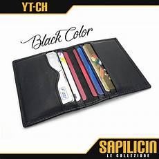 jual dompet kartu kredit pria tipis kulit asli premium slim card pocket wallet yt ch di lapak