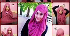 Kreasi Jilbab Pashmina Untuk Remaja Tutorial