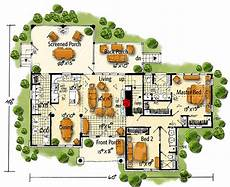 mountainside house plans rugged mountain house plan with huge screened porch