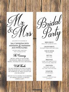 simple wedding program wedding simple wedding reception wedding reception program wedding