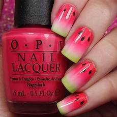 watermelon nail art designs for summer 2016 girlshue