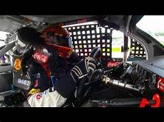 In Car - in car tony stewart runs out of fuel at new