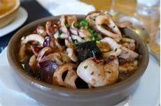 Tintenfisch Zubereiten Pfanne - tintenfisch aus der pfanne picture of galicia port d