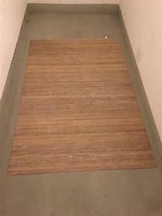 bambus teppich bambus teppich 120x178 beige kaufen auf ricardo