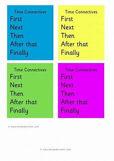 time connectives worksheets grade 2 3515 time connectives book or word bank printable teaching resources adjective words free
