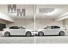 Bmw 1m Vs 135i bmw car magazine article m grudge match 1m vs tuned