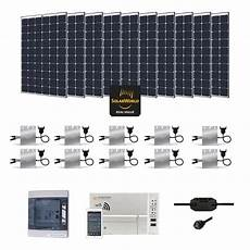 kit solaire 3000w autoconsommation enphase play