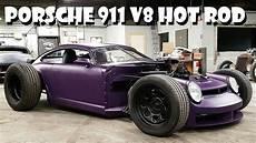 custom hot rod porsche 911 964 v8 build badass rat rods street rods sound speed and acceleration