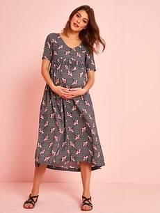 robe longue de grossesse en viscose imprim 233 imprime wax