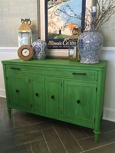 buffet painted in annie sloan antibes green vintage