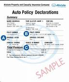 Insurance Policy Number Lookup