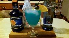 how to make a blue lagoon cocktail mixed drink recipe included djs brewtube youtube