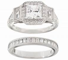 qvc wedding ring sets wedding decor ideas