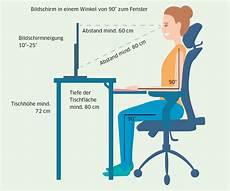 ergonomie am arbeitsplatz so gehts richtig pctipp ch