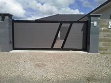 Portail Aluminium Semi Ajour 233 T 244 Le Perfor 233 E Mod 232 Le Lougre
