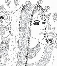 indian coloring page beautiful coloring