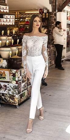 Modern Liretta Wedding Dresses 2018 Wedding Jumpsuit