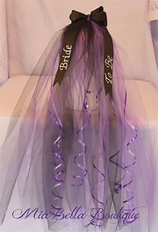 bachelorette bridal veil bridal shower veil by