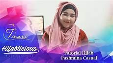 Hijablicious Tutorial Pashmina Casual 2