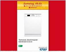 Techwood Geschirrsp 252 Ler Real Angebot Am 5 3 2016