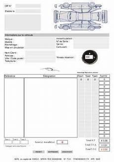Ordre De Reparation Automobile Document Pdf