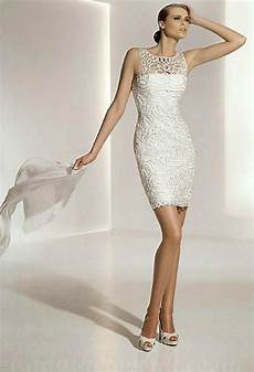 Casual Second Wedding Ideas white casual second marriage wedding dresses
