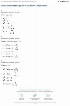 division of polynomials worksheets with answers 7014 polynomial division common algebra ii homework answers