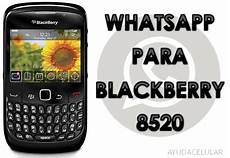 whatsapp version vieja blackberry 8520