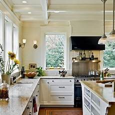 white kitchen no uppers no cabinets large