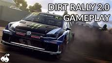 9 Minutes Of Dirt Rally 2 0 Gameplay New Codemasters