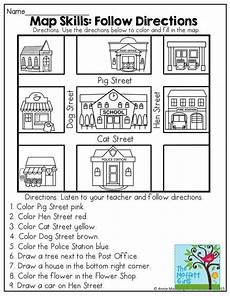 teaching directions year 1 11789 april no prep packet kindergarten kindergarten social studies teaching social studies map