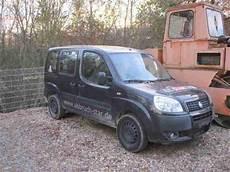 Fiat Doblo Diesel In Schwarz Mit Motorschaden Hei 223 Er