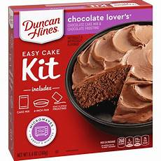 duncan hines perfect size chocolate lover s cake mix