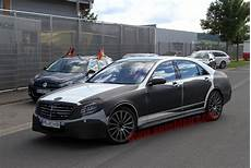 Next Mercedes S Class Spotted With Amg Trimmings