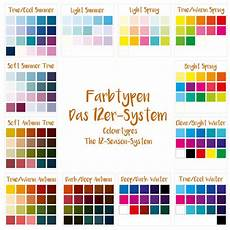 colour seasons part 2 the 12 season system and the 16