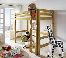 hoch bett massives umbaubares hochbett mit leiter f 252 r kinder kids