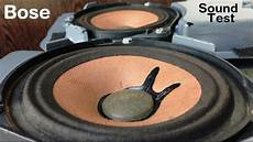 Bose Car Stock Speakers Sound Test 2