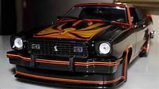 1 ford mustang ii king cobra 1978 black by greenlight