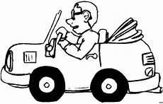 Comic Autos Malvorlagen Mann Mit Brille In Einem Auto Ausmalbild Malvorlage Comics