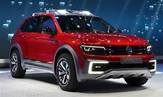 vw unveils in hybrid tiguan gte active suv with 6