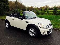 Deposit Taken On This 2012 Mini One Convertible Pepper