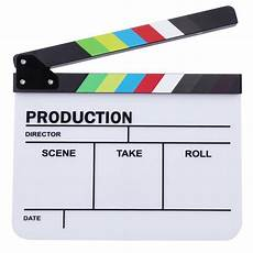 Director Clapperboard by Clapperboard Tv Clapper Board Handmade Colorful