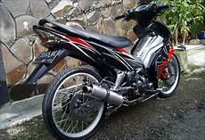 Modifikasi Jupiter Mx Standar by Modifikasi Motor Yamaha 2016 Modif Jupiter Mx Standar