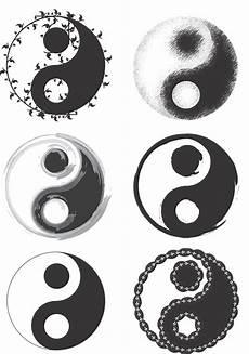 ying yang symbol jing jang yin yan tatuaje de