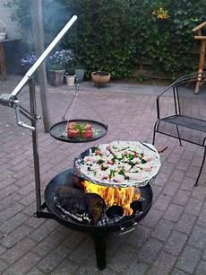 brasero grill et foyer de jardin outdoor spaces