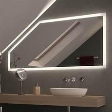 spiegel f 252 r dachschr 228 mit led beleuchtung framo 989706557