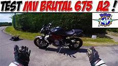 bridage moto a2 moto vlog 95 test mv 675 a2 bridage qui tourne